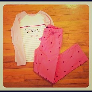 GAP Other - Gap kids chinos and Escada t-shirt. Size 10