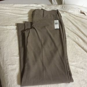 Light brown slacks