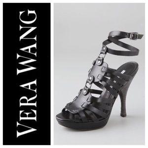 Vera Wang Shoes - VERA WANG LAVENDER HEIDI SHEILD STILETTO SANDALS