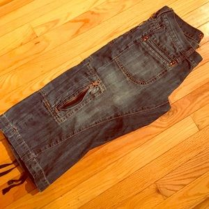 Ted Baker Boyfriend Capri cargo jeans