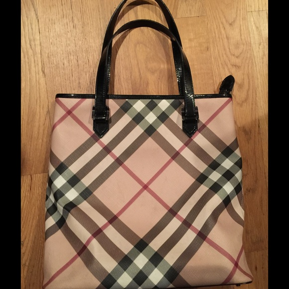 be926f468c Burberry Bags | Vintage Nova Check Tote Now Dc Pattern | Poshmark