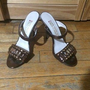 Shoes - Brown Sandal Heels