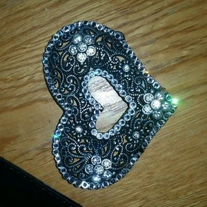 Belt Buckle & Belt for sale
