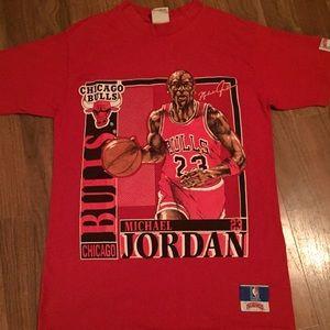 Tops - Michael Jordan Chicago Bulls 1990 Vintage