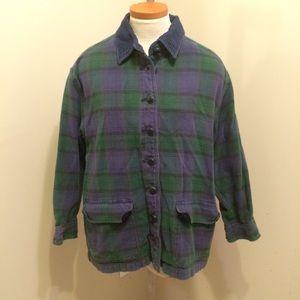 Krazy Kat Jackets & Blazers - Plaid Shirt Jacket