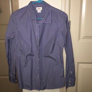 J.Crew button down plaid/gingham shirt