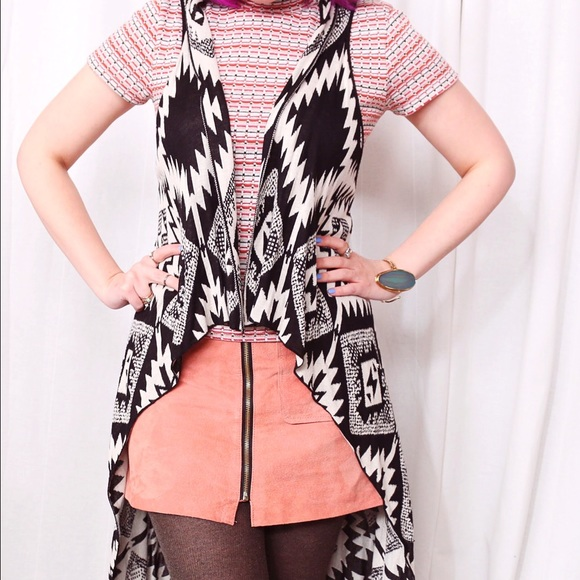 Jackets & Coats - HALF OFF SALE | Long Printed Vest
