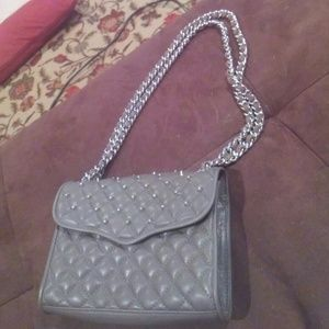 Rebecca Minkoff Quilted Jumbo Affair Bag with stud