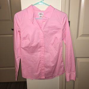 J.Crew button down pink shirt