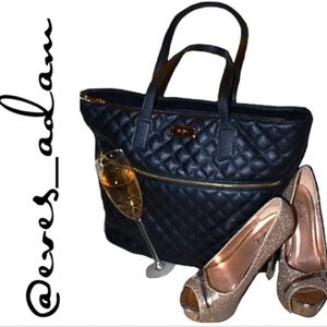 BCBG Handbags - BCBG Black Tote