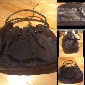 Kate Spade Handbag Chocolate Brown Nylon