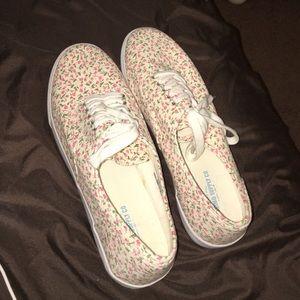 Size 11 floral shoes