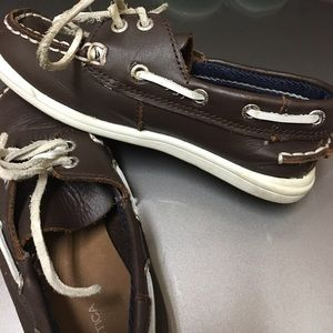 Nautica Shoes - Super cute leather kid Nautical boat shoes!