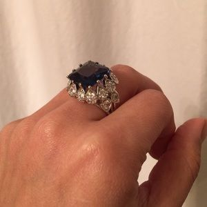 Nordstrom Jewelry - Blue gemstone ring