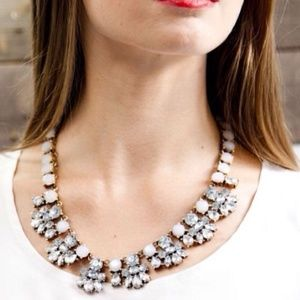 The Madison Crystal & Faux Stone Necklace