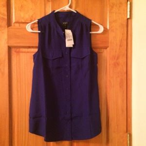 J. Crew Tops - J crew factory sleeveless blouse