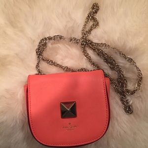Ettie New Bond Street Flo Coral Crossbody