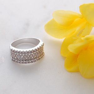 CZ Pave Ring