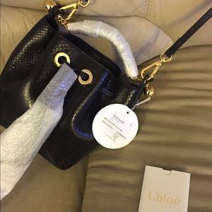chloe replica shoes - 61% off Chloe Handbags - Chloe Baylee mini bag made from real ...