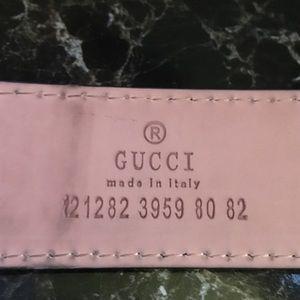 fake serial number gucci belt