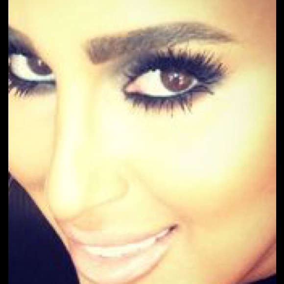 Makeup 100 Human Hair Lash Extensions False Lashes Poshmark