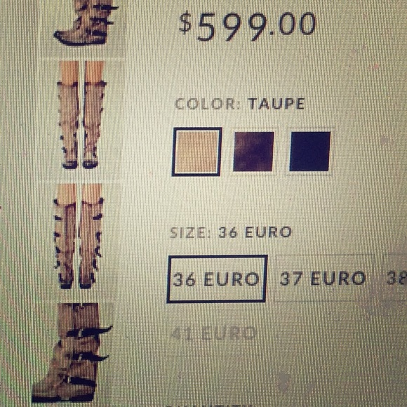 efcd45dbcd9 A.S.98 for Free People  Tatum over the knee boots