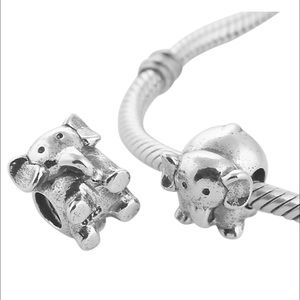 Pandora Jewelry - Pandora Elephant  & 18th Bday  **Charms Only**