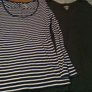 Old Navy Tops - Lot of 2-Old Navy Long sleeve t-shirts-XXL