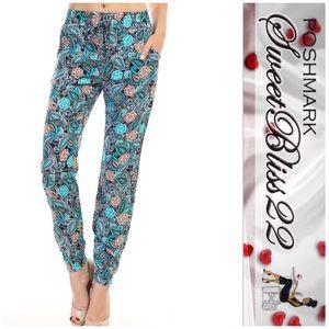 Pants - 💖Teal Blue Joggers💖