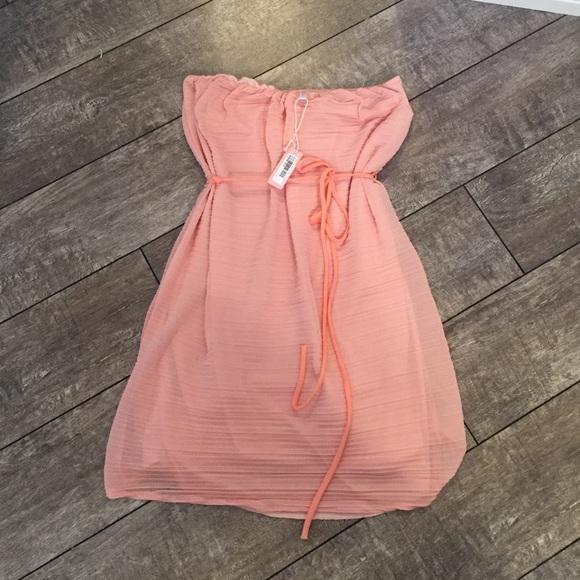 NWT Pink Blush Maternity Dress size s m 6548f0277