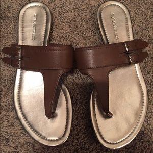 Banana republic sandals!