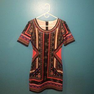 Sale bright colors midi dress 