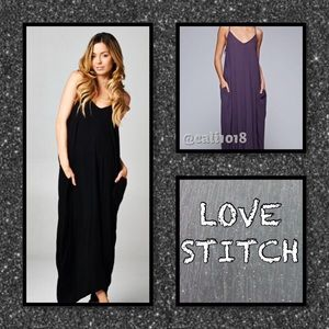 Love Stitch Dresses & Skirts - RESTOCKED 🆕Black & Army Green Avail To Purchase
