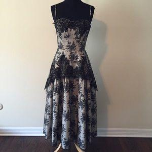 Dresses & Skirts - Designer sample black lace vintage style dress