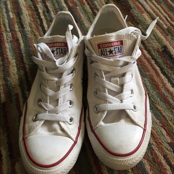 4633aef734ad Converse Shoes - Size 6 women s white converse all star