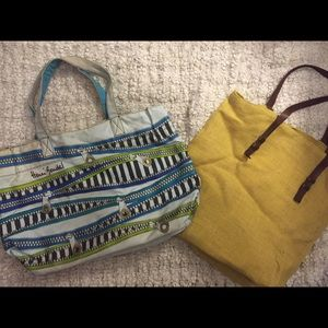 henri bendel Handbags - Summer bags! Henri bendal & yellow is Zara