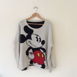 Mickey Mouse oversized sweater M / L