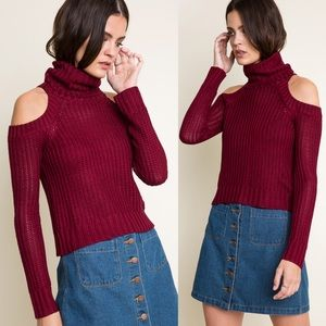 1DAYSALE Cold Zodiac Knitted Turtleneck Sweater