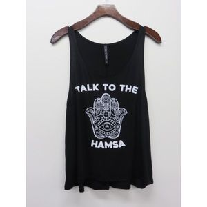 Tops - Talk to the Hamsa Top-LARGE