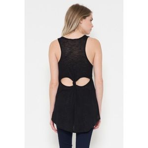 Tops - Back Knot Top-SMALL
