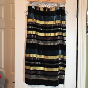 Anthropologie Dresses & Skirts - Anthropologie velvet and satin midi