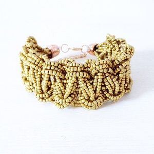 | new | gold twist bracelet