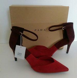 Zara Basic Pumps w/box Size 41