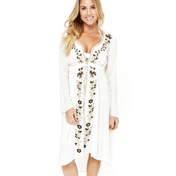 Gauzy white dresses