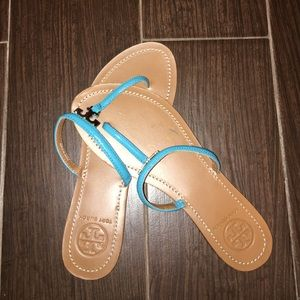 Tory burch blue Sz 8