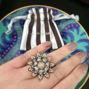 henri bendel Jewelry - Jardin Flower Ring