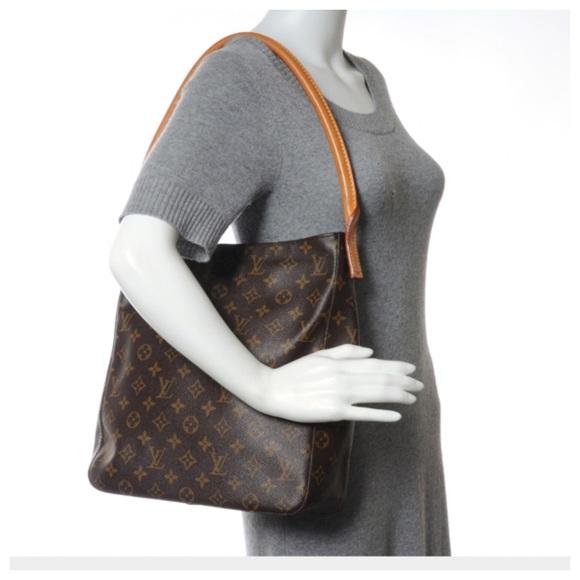 225834a32e1e3 Louis Vuitton Handbags - 💞 💯Louis Vuitton Monogram Looping GM Handbag