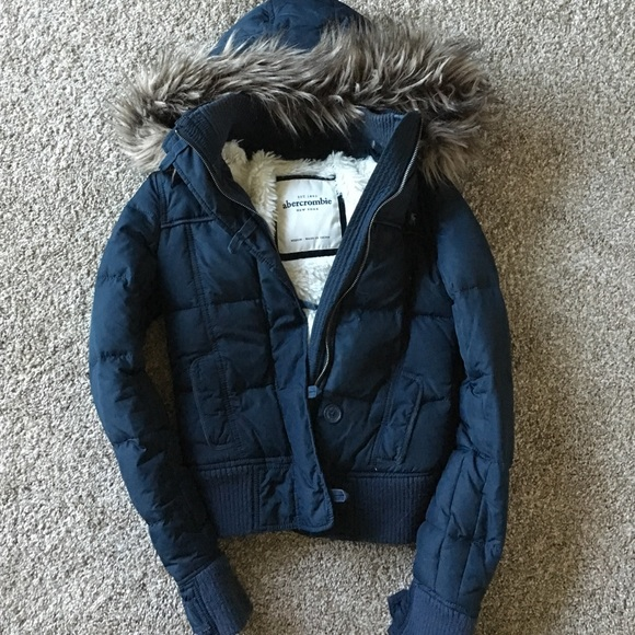 Abercrombie & Fitch Jackets & Coats | Abercrombie Navy