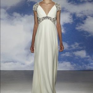 Jenny Packham Dresses & Skirts - Jenny Packham Noa Wedding Dress - fits like 6