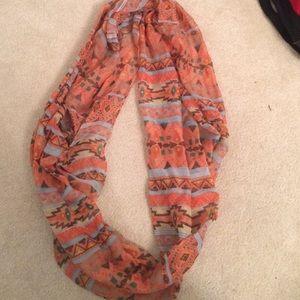 Aztec infinity scarf/ wrap